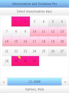 calendar, screenshot 1