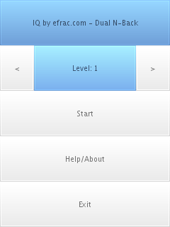 iq exercise, screenshot 1