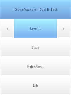 iq exercise, screenshot 1